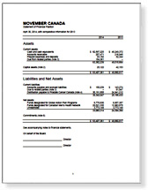 Movember Canada - About Us - Annual Reports