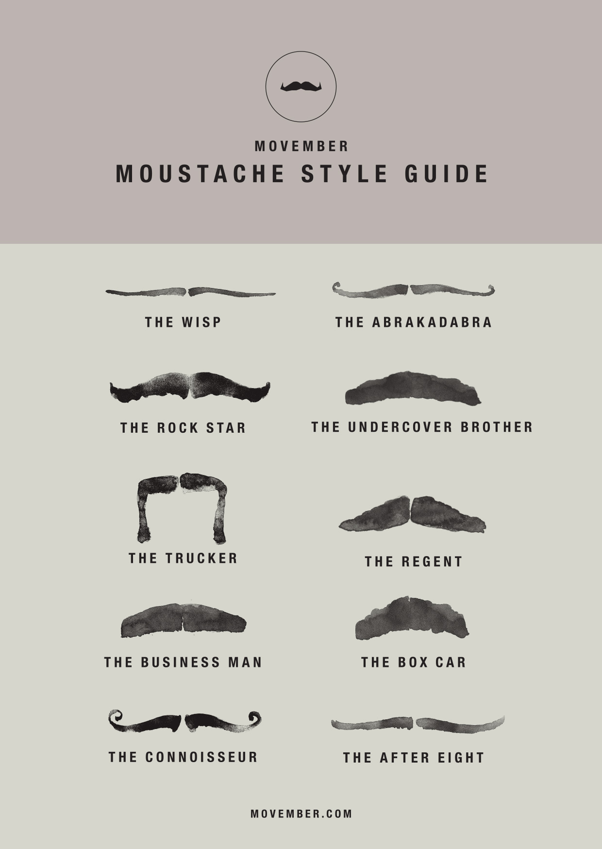 mustache style guide